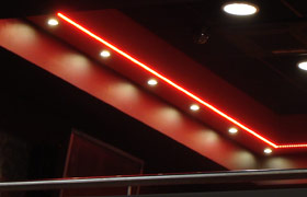 Montaż taśm LED